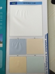 Sell MSD 0.18mm thick 5m wide PVC ceiling film matt 005-3 ceiling/wallpaper