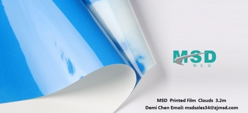 Sell MSD Pvc stretch ceiling film printed film