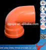 UPVC Elbow with Rubber Ring