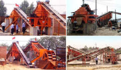 choose mining vibrating screen gold mining plant