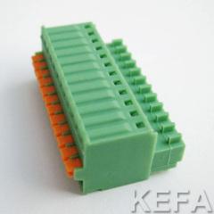 terminal block with spring press button KF2EDGKD