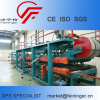XPS steel sandwich composite panel machine production line