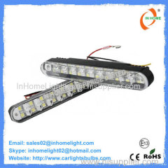 Non Glare White 5050 SMD Auto Led Daytime Running Lights Swerve Control