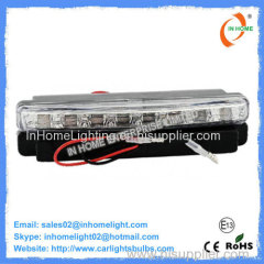 Plastic Cover 3528 SMD Safe Car Daytime Running Lights 12V LED Auto Parts