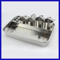 Stainless steel medical plate