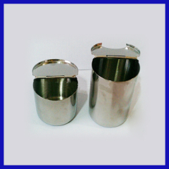 Stainless steel bottle disinfection