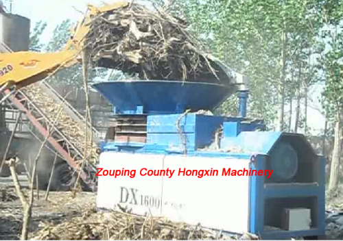 Easy operation long service life Tree roots shredder