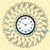Lishuo specials european-style luxury wall clock contemporary sitting room is contracted fashion art creative bracket cl