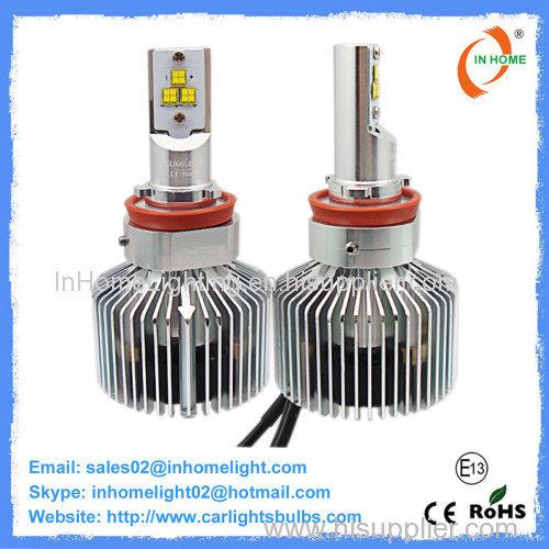 35W Auto LED Headlight Bulbs Focus Length Adjustable Headlight