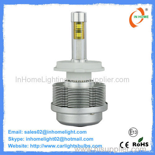 The 5th Generation Motorcycle H4 LED Headlight Bulbs 45W Philips Latest Model