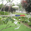 Plastic Solar Garden Light Wind Chimes White Dragonfly