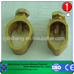 Hot Seller A-type copper clamp for ground rod connection