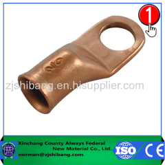 Copper terminal lug type for electric wire