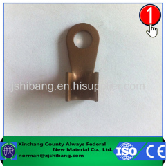 Copper lug of electric wire terminal