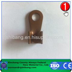 Copper lug electric wire terminal