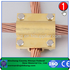 Copper Cable to Cable Clamp for Connecting