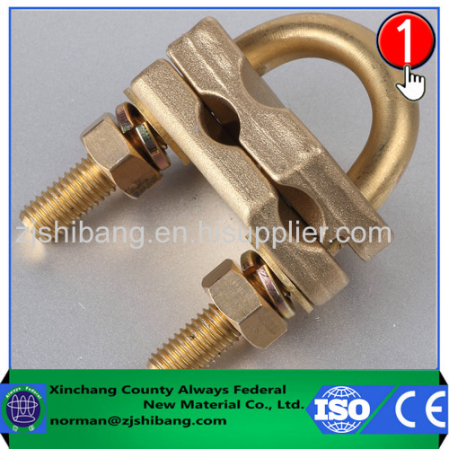 Brass components for lightning protection electrical connectors