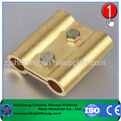 Copper electric wire grip clamp