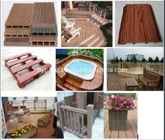 wood plastic composite machine