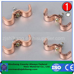 Electric Copper Earth Cable Clamp Manufacturer