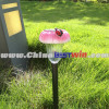 Resin 1-LED Solar Light Stake With Red Beatles