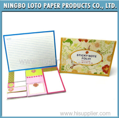 15 Years Experience Factory Supply Custom Sticky Note Pad Sticky Note with 8 Sticky Pads
