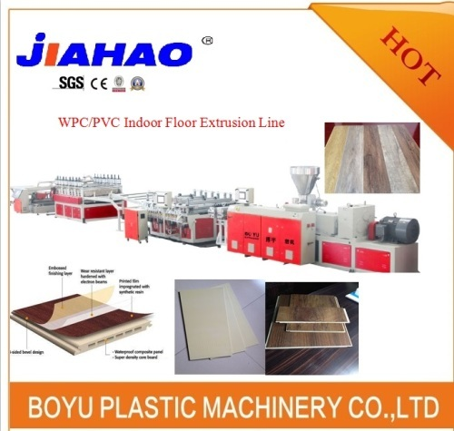 WPC Flooring sheet making machine