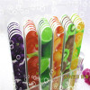 vegetables pattern nail file