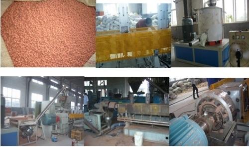 WPC wood plastic granulator production line