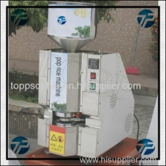 High Capacity Rice Cake Popping Machine For Hot Sale