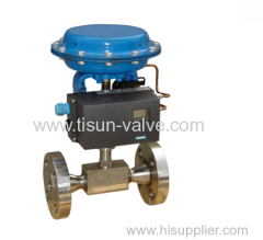 Pneumatic high-pressure small flow control valve