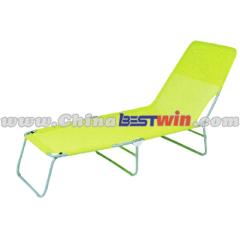 Folding beach lounger chair