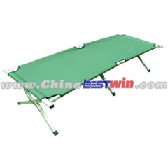 Outdoor folding camp beds beach lounger