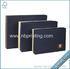 15 Years Experience Factory Supply European Standard Custom Kraft Paper Box