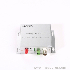 1 Channel digital video receiver and transmitter 1 channel optical transceiver