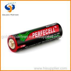 Sum3 aa size battery 1.5 v with pvc jacket