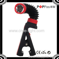 POPPAS B72 Scalable Universal Angle Inspection Lamp Multifunction Telescopic Work Light With Clip