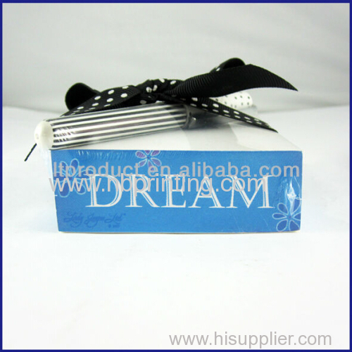 Manufacturer Supply ODM Available Mini Notepad with Pen