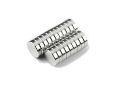 N40 Neodymium disc magnet 6x10mm Nickel coated