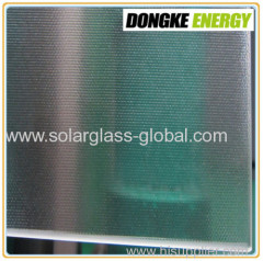 AR solar panel coating glass 3.2mm