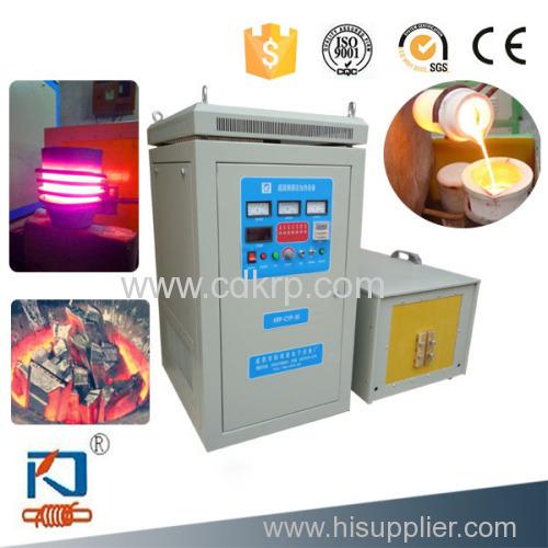 gold melting crucible furnace 20kw