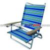 Comfortable beach lounge chair