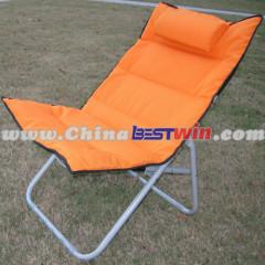 Folding Outdoor Garden Camping Relaxer Reclining Recliner Beach Chair