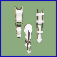 Medical adjustable knee support for Lower extremity trauma