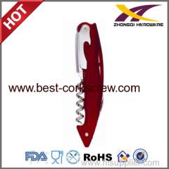 Stainless Steel Opener waiter corkscrews