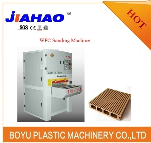 WPC Wood Plastic Sanding Machine