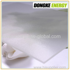 4.0mm Low Iron AR Coated solar glass
