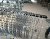 high tensile Security Anti-climb Military defense Double coil concertina wire BTO-22