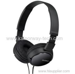 Sony MDRZX110 ZX Series Stereo Black On-the-ear Wired Headphones