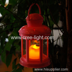 Lumifre High Quality ABS Plastic Candle Lamp Camping Lantern